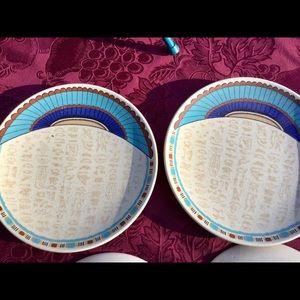COPY - Boho, Indian Feast Rare Mikasa Stoneware P…